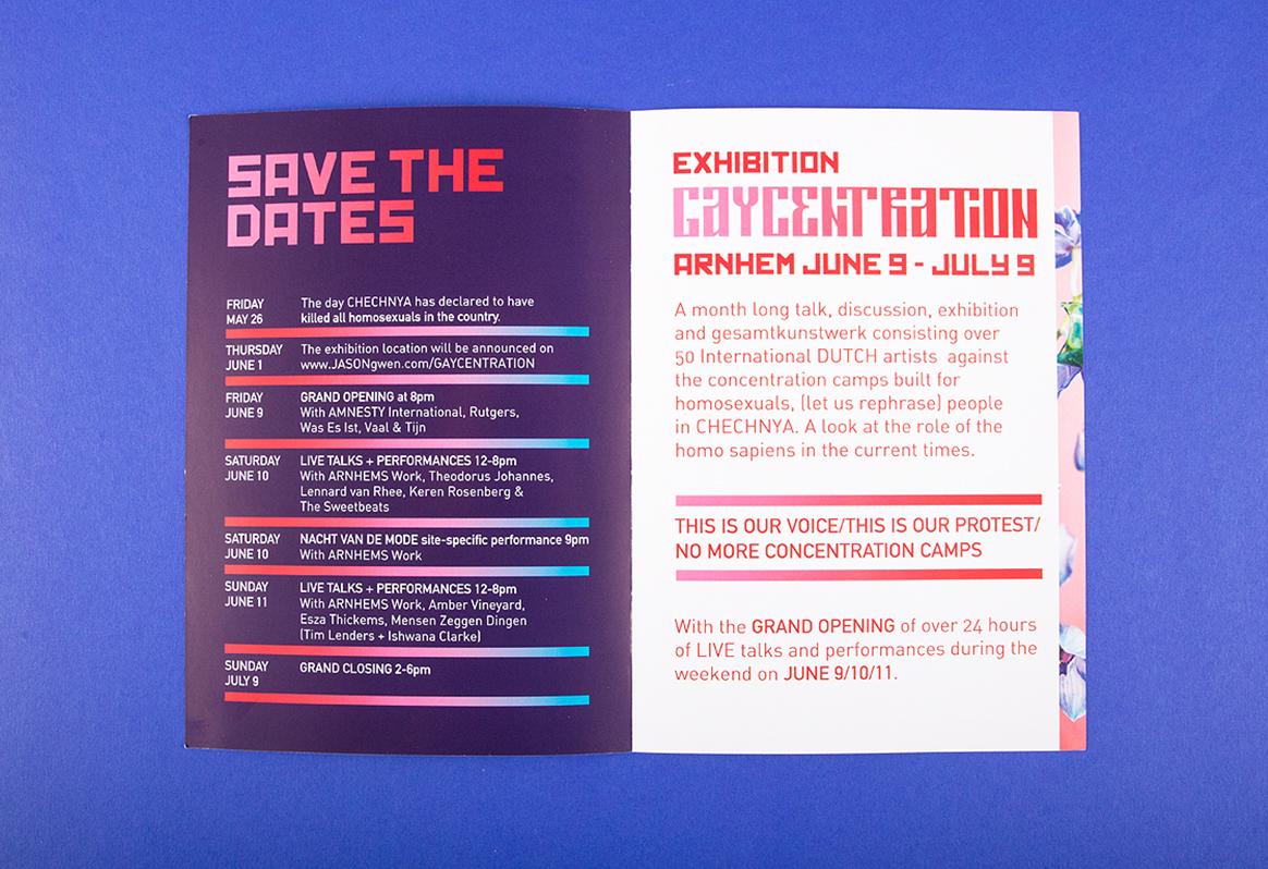 Gaycentration Exhibition arnhem DDD graphic design grafisch ontwerp