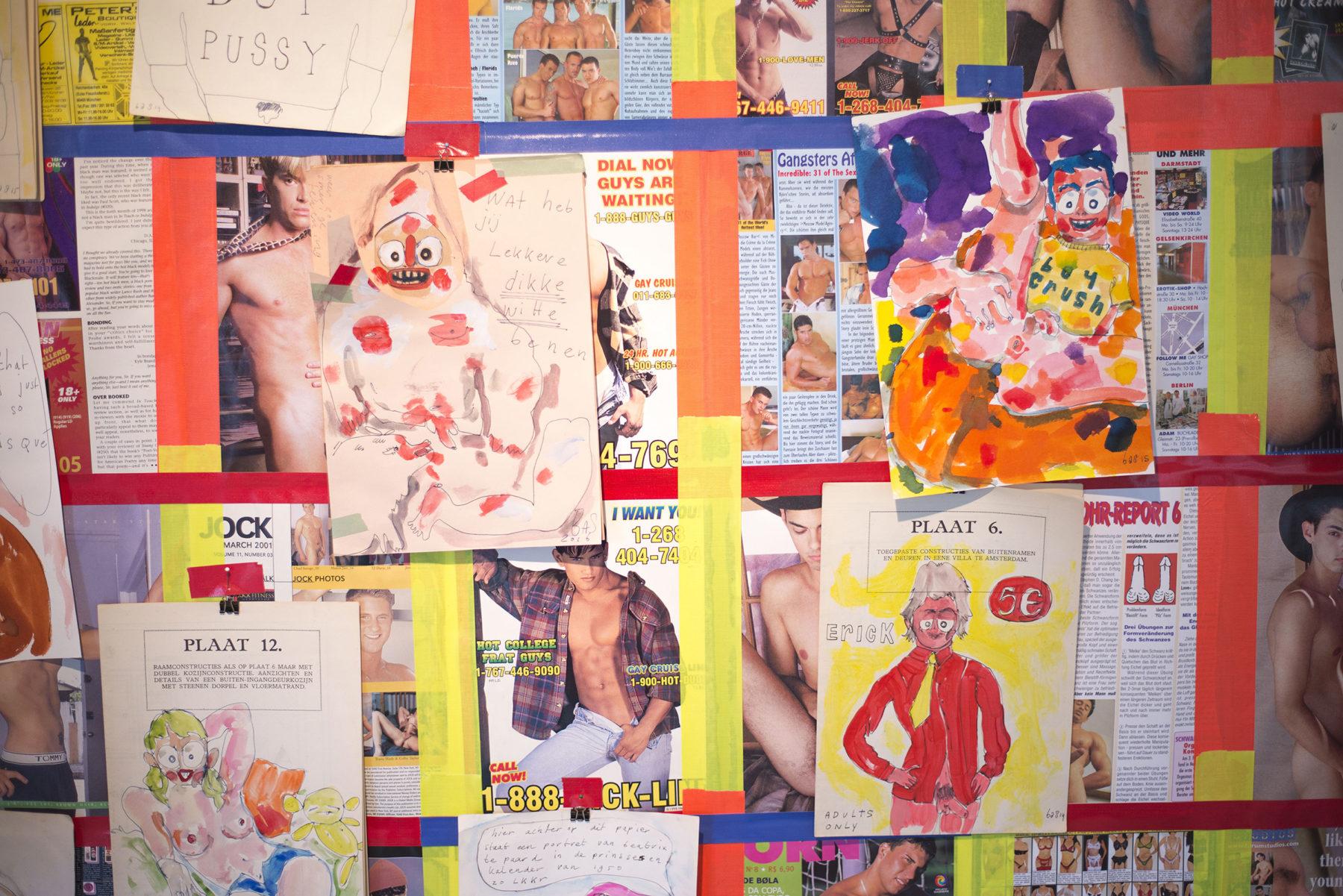 Bas Kosters Gaycentration Exhibition arnhem DDD graphic design grafisch ontwerp